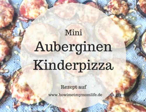 Auberginen Kinderpizza // BLW geeignet