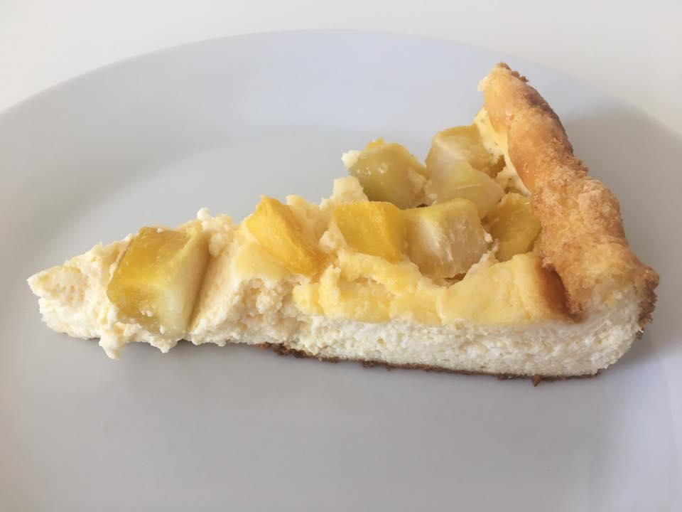 Mascarpone Ricotta Käsekuchen