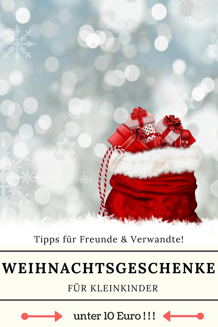 Geschenkideen Kleinkinder Weihnachten