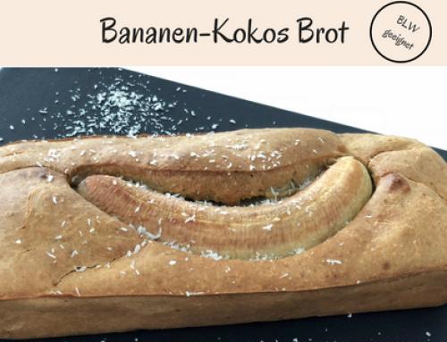 Bananen-Kokos Brot | ohne Zucker & BLW geeignet