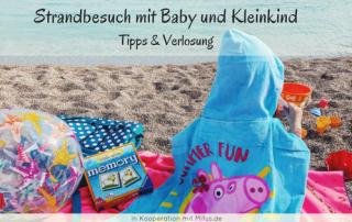 Strandbesuch mit Baby und Kleinkind Tipps Mifus.de