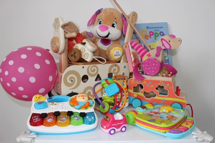 Geschenke zum ersten Geburtstag