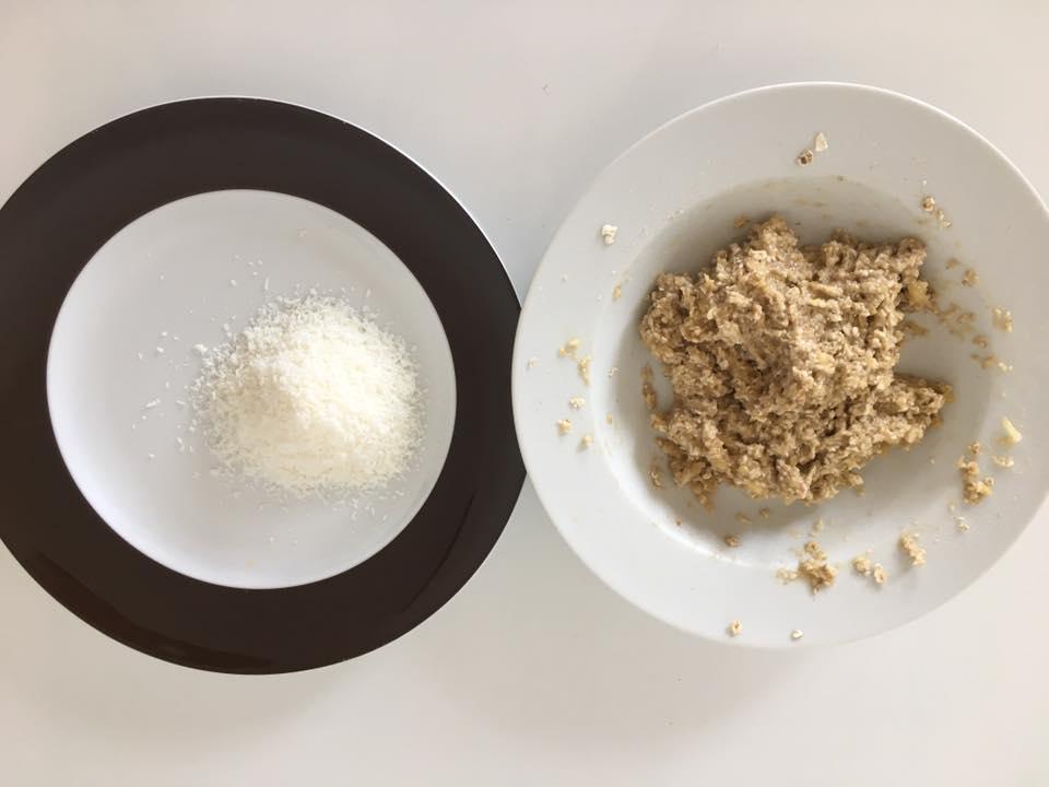 Kokosbälldchen, Hafer-Kokos-Bällchen