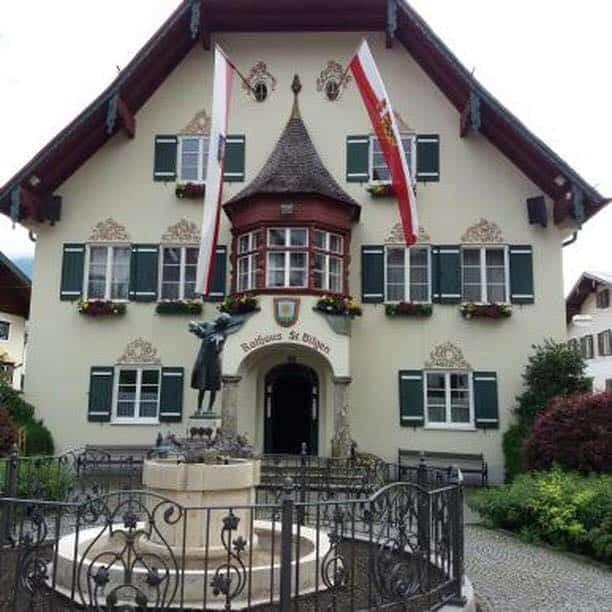 Österreich mit Kleinkind