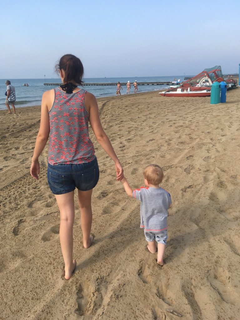 Urlaub mit Kleinkind in Italien