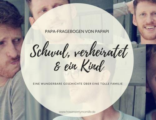 Schwul, verheiratet und ein Kind  | Kevin vom Blog Papapi