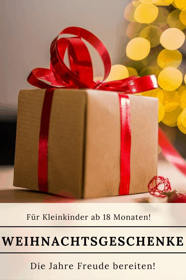 Weihnachtsgeschenke ab 18 Monaten