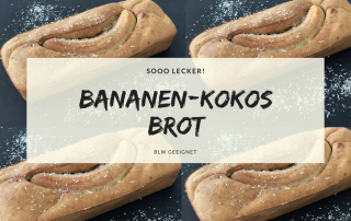 Bananen-Kokos Brot ohne Zucker BLW geeignet