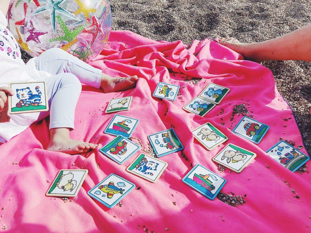 strandbesuch mit baby und kleinkind