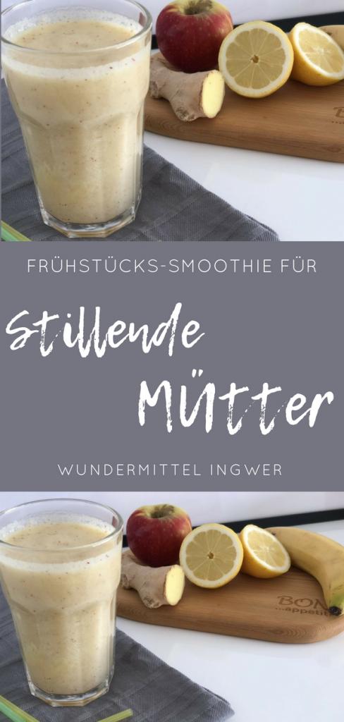 Frühstücks-Smoothie für stillende Mütter, Smoothie Rezept Stillen, Smoothie Rezept Thermomix
