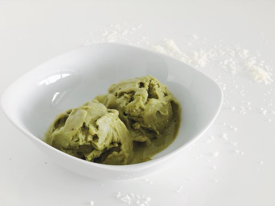 Nicecream Rezepte für Kinder Matcha