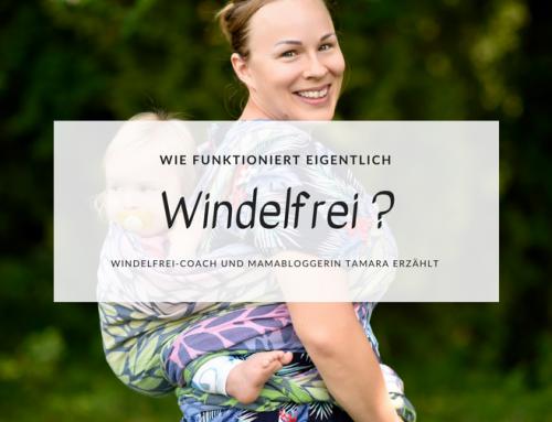 Wie funktioniert Windelfrei? Windelfrei-Coach und Mamabloggerin Tamara erzählt