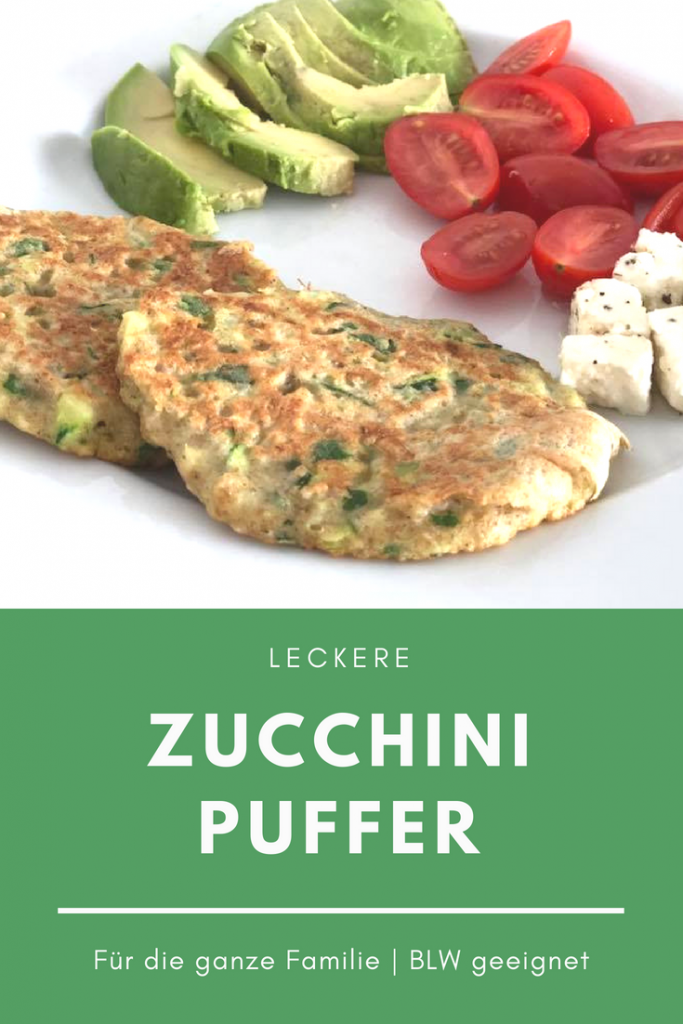 Zucchinipuffer Rezept BLW Kinderrezepte Familienrezepte Zucchinirezepte Thermomix