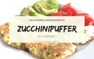 Zucchinipuffer für die ganze Familie