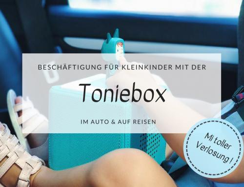 Anzeige | Beschäftigung für Kleinkinder im Auto und auf Reisen mit der Toniebox