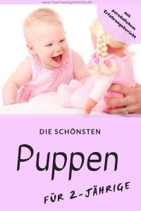 die schönsten Puppen für 2-jährige puppentipps spielzeug ...
