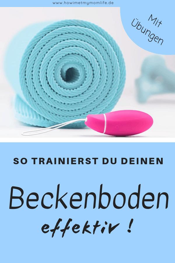 Beckenboden selbst trainieren , effektive Rückbildung nach der Geburt, Rückbildungsübungen, Wochenbett, Rektusdiastase