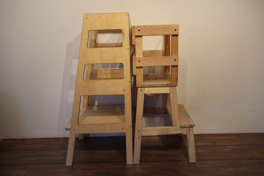 Fertiger Lernturm vergleich DIY lernturm Ikea