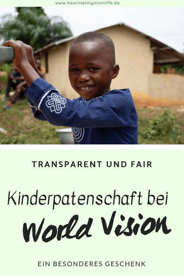 Ein besonderes Geschenk - die Kinderpatenschaft bei World Vision Geschenkidee Kinder Spenden Patenschaft