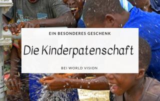 Ein besonderes Geschenk - die Kinderpatenschaft bei World Vision Titel.