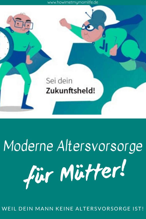Moderne Altersvorsorge für Mütter mit VisualVest Pin
