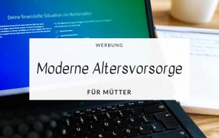Moderne Altersvorsorge für Mütter mit VisualVest Titel Howimetmymomlife