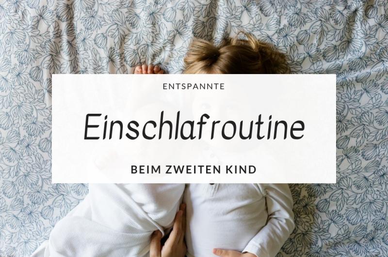 Entspannte Einschlafroutine beim zweiten Kind