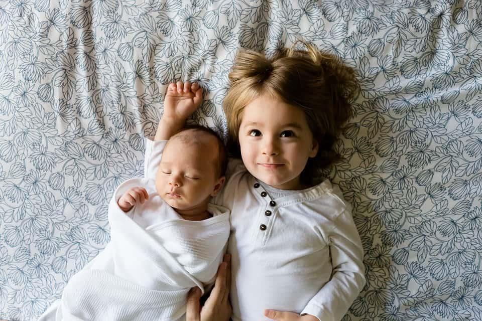 Einschlafroutine beim zweiten Kind
