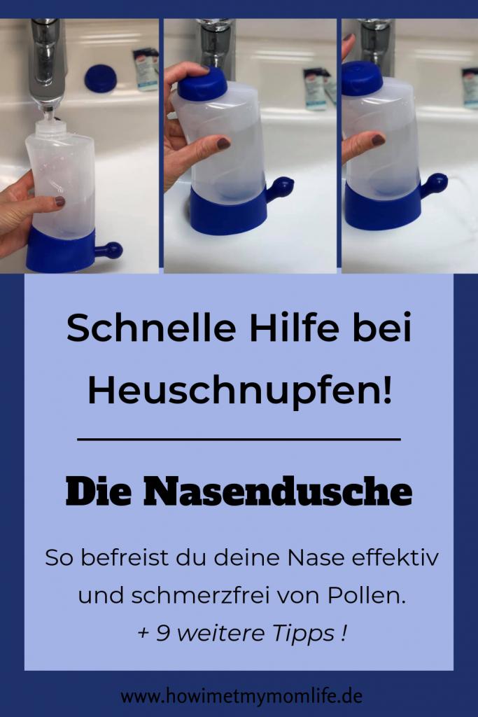 10 natürliche Tipps bei Heuschnupfen Emser Nasendusche Pin