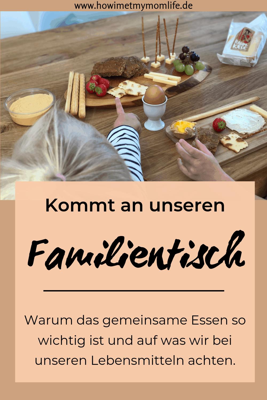 Familienessen Familienbrunch Familientisch mit Kindern essen Tischregeln mit Kindern Ernährung für Kinder gesundes Essen für Kinder