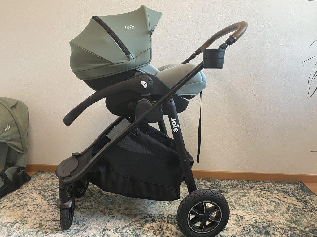 Joie versatrax™ Kinderwagen Testbericht und Erfahrung Babyschale