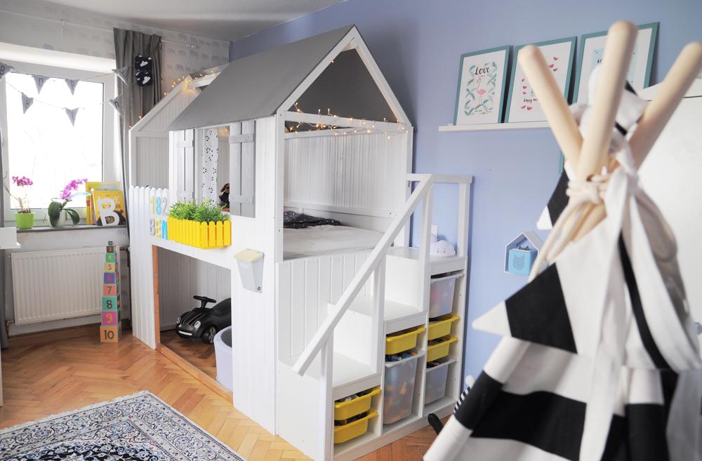 Ikea Kura Hausbett selber bauenDIY Anleitung