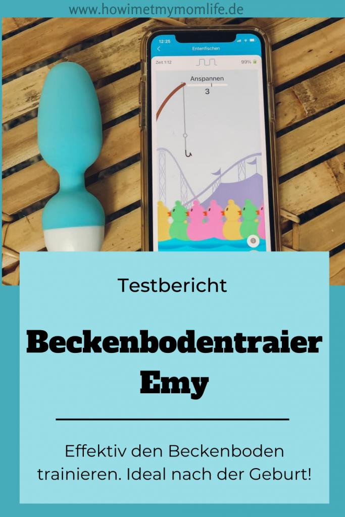 Emy Beckenbodentrainer Erfahrungsbericht und Gutscheincode